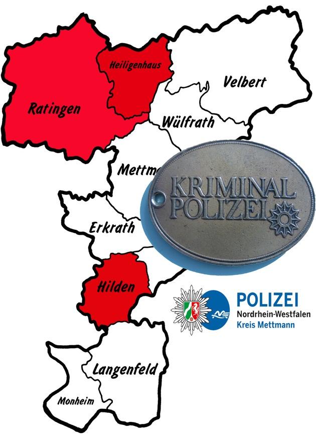 Symbolbild: Aktuelle Einbrüche aus Ratingen, Heiligenhaus und Hilden