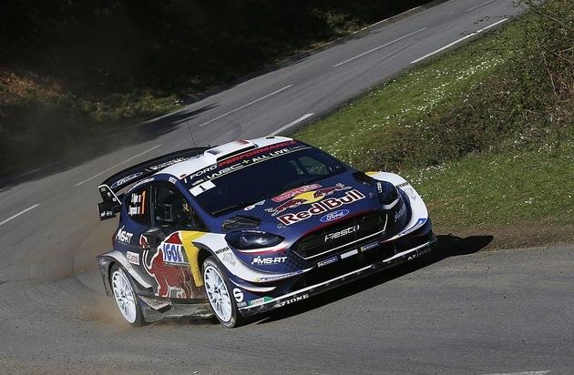 Ford Fiesta WRC-Pilot Sébastien Ogier will in Spanien die Weichen für die Titelverteidigung stellen