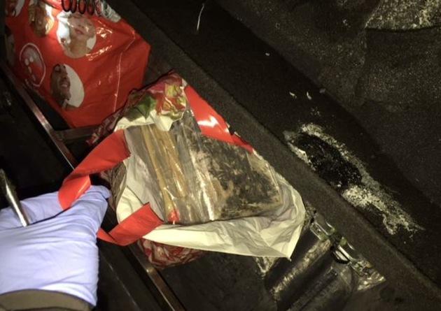 BPOL NRW: Bundespolizei stellt 12,25 Kilogramm Kokain auf der B 58 in Straelen im Wert von 841.000 Euro sicher
