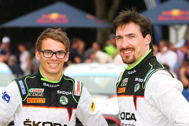 SKODA AUTO Deutschland startet 2018 mit Fabian Kreim/Frank Christian in der Rallye-EM