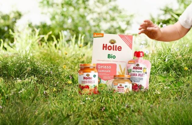 Demeter für die Kleinsten / Ab Februar bietet Kaufland Babynahrung von Holle an