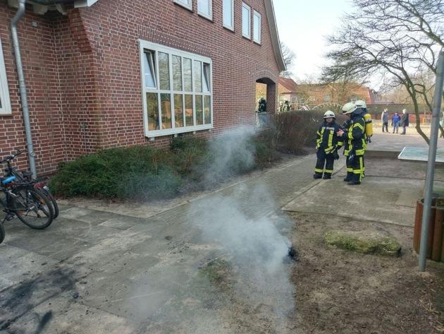 Feuerwehr an der Schule