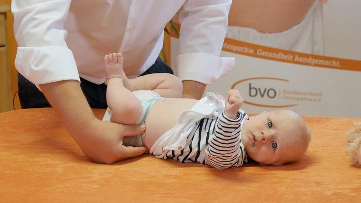 Pressemitteilung: Wie Osteopathie Kindern hilft