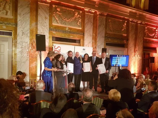 BILD zu OTS - Überreichung des Maecenas-Kultursponsoring-Preises für Kulturanbieter an Leopold Museum-Direktor Hans-Peter Wipplinger
