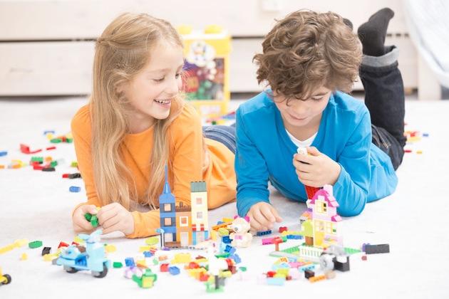 LEGO Produkte haben festen Platz auf Wunschzetteln der Kinder