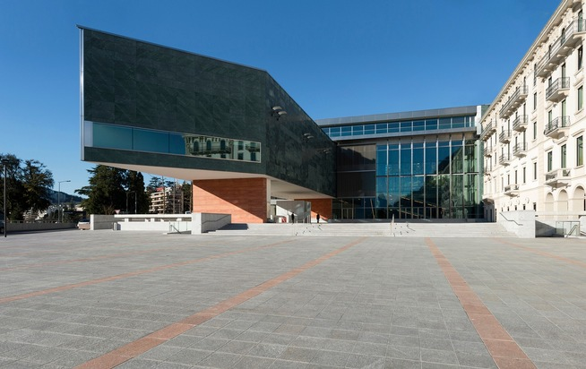 Das LAC Lugano Arte e Cultura ist zum Zentrum der Kultur im Süden geworden.