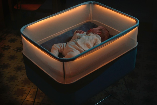 """""""Max Motor Dreams"""" von Ford: Cleveres Kinderbett simuliert Autofahrten, damit Kleinkinder auch zu Hause gut einschlafen"""