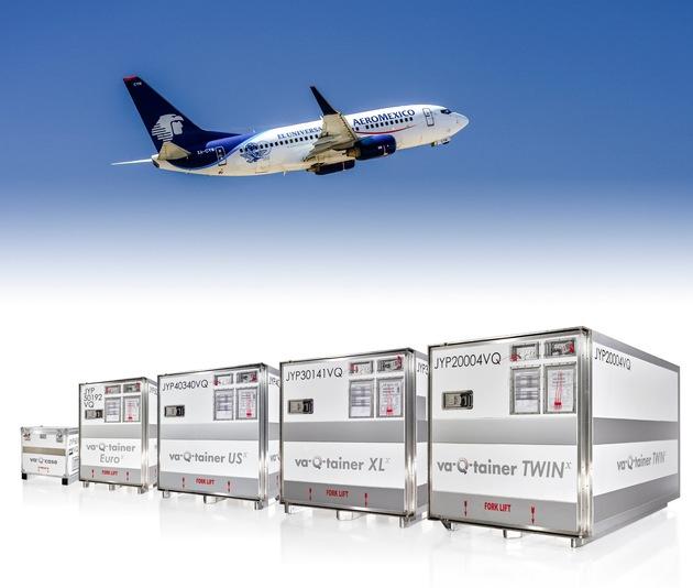 va-Q-tec und Aeroméxico Cargo beschließen Partnerschaft für temperatur-kontrollierte Transporte