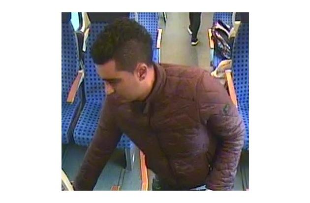 BPOLI L: Wer kennt diesen Mann?  Die Bundespolizei Leipzig fahndet nach Handtaschendieb (nur Print- und Onlinemedien)