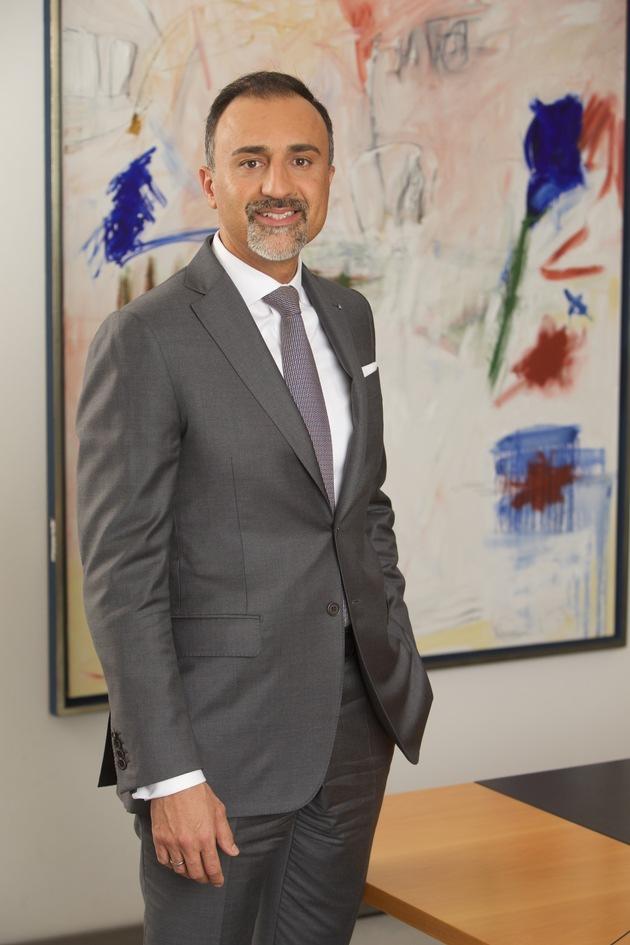 Jawed Barna, Vorstand für Vertrieb und Strategische Partnerschaften der Zurich Gruppe Deutschland /Bildrechte: Zurich