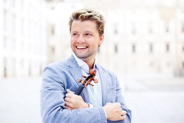 La musica classica va di moda: Migros-Percento-culturale-Classics 2011/2012  La star del violino Julian Rachlin incanta le sale da concerto svizzere