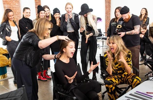 Das große #GNTM-Umstyling. 25 Top-Stylisten zaubern Heidi Klums Models einen neuen Look