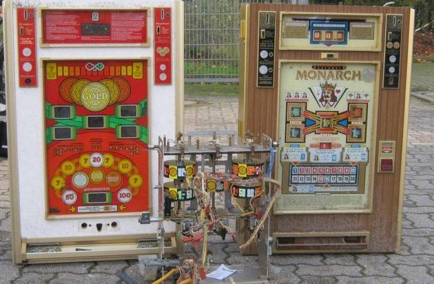Alte Spielautomaten
