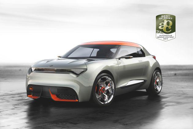 """Kia-Designteam ist """"Team of the Year"""" / Dreifach-Triumph von Kia Motors beim Designwettbewerb Automotive Brand Contest 2014"""