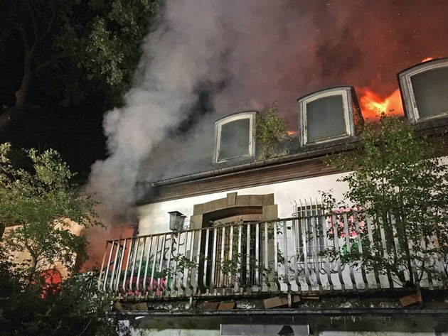 Bild 2 vom Brandort / Quelle: Feuerwehr Ratingen