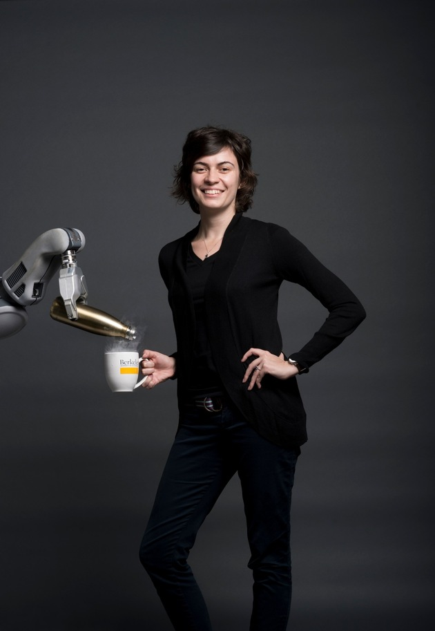 Anca Dragan is leading a research laboratory studying interaction between humans and robots. Photo: Noah Berger