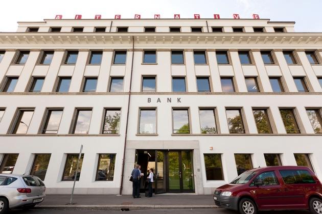 Alternative Bank Schweiz mit gutem Ergebnis