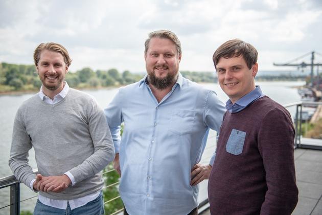 Das Sales-Team von WetterOnline betreut die Eigenvermarktung des Marktführers. Von links nach rechts: Matthias Weiler, Holger Pautsch, Christoph Brömling   Bildnachweis: WetterOnline (bei Verwendung unbedingt angeben)