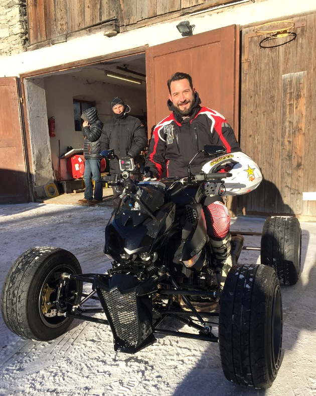 """""""GRIP - Das Motormagazin"""": Matthias Malmedie im Duell mit Jens Kuck / Sendetermin: Sonntag, 15. Februar 2015, um 18:00 Uhr bei RTL II"""