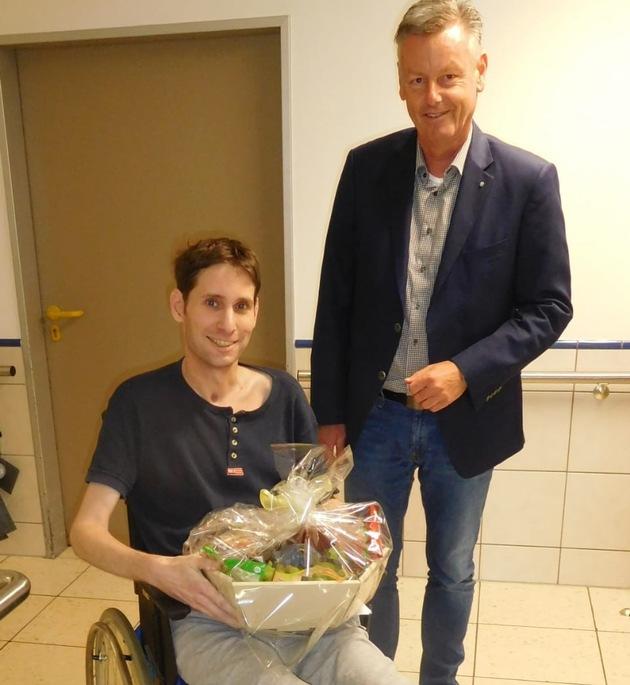 Besuch des Bürgermeisters der Stadt Lohmar
