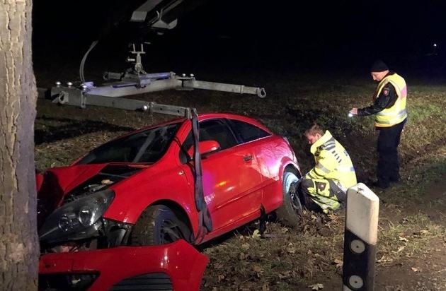 POL-GS: Pressemeldung der Polizei Goslar zu einem Verkehrsunfall in Liebenburg und einer... - Presseportal.de