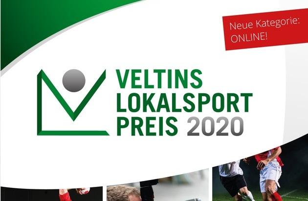 Veltins-Lokalsportpreis 2020: Bewerbungsphase für Beiträge in Wort, Bild oder Online läuft