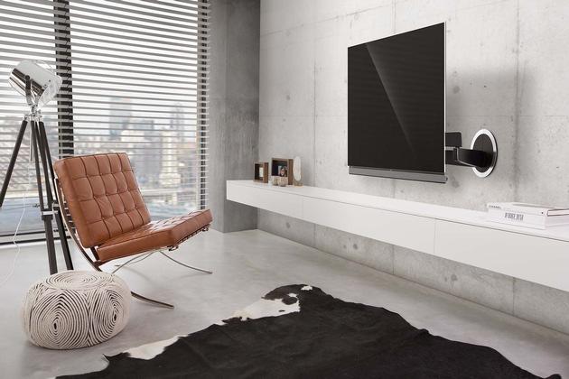 Flexible Wandhalterungen für OLED TVs