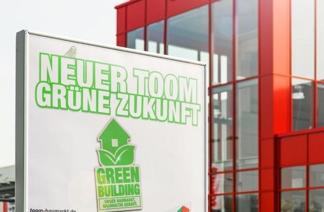 nachhaltiges bauen f r eine gr ne zukunft toom baumarkt erh lt silber zertifizierung der. Black Bedroom Furniture Sets. Home Design Ideas