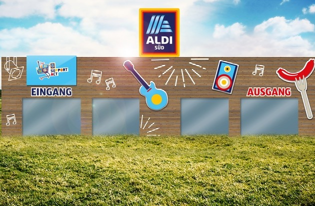 Southside Festival Größte ALDI SÜD Filiale steht in den Startlöchern