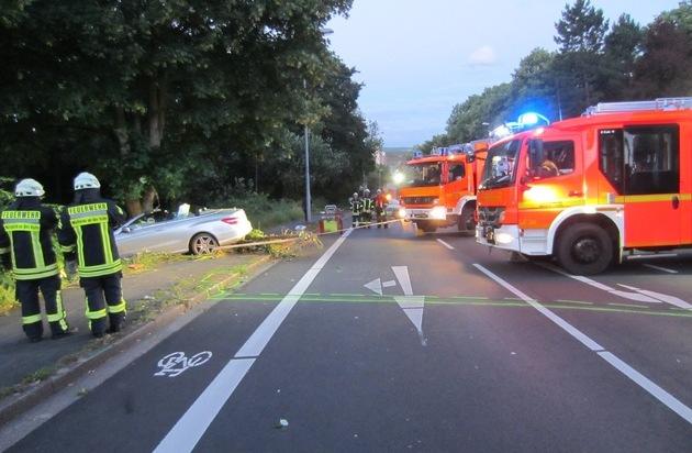 Schwerer Verkehrsunfall Mülheim