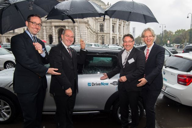 DriveNow in Wien gestartet