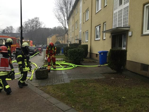 FW-Heiligenhaus: Brennende Waschmaschinen verrauchten Keller (Meldung 7/2018)