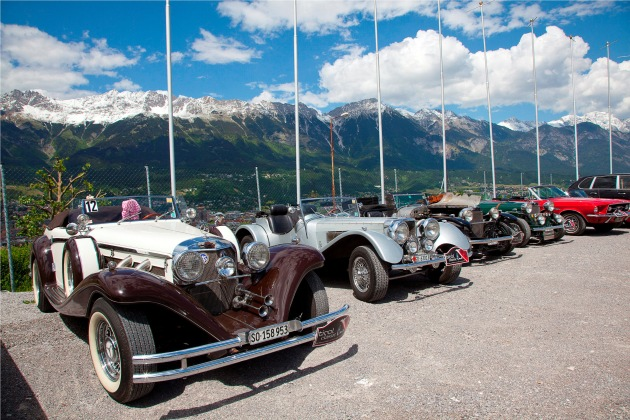 tirol classic 2011: Genussrallye macht Station in Tirol