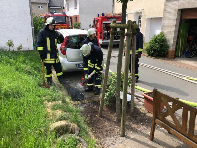 Kaminbrand 10.05.2018 Großeneder