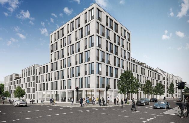 M-CONCEPT Real Estate verkauft und vermietet Büroneubau in Pasinger Quartier