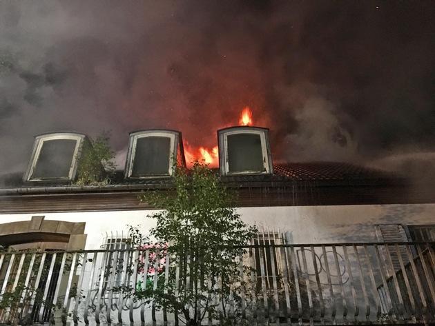 Bild 3 vom Brandort / Quelle: Feuerwehr Ratingen