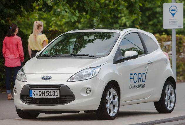 """""""Ford Carsharing"""" feiert ersten Geburtstag"""