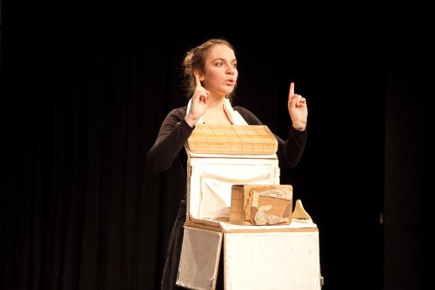 Migros-Kulturprozent: Bewegungstheater-Wettbewerb 2012   Ausgezeichneter Nachwuchs