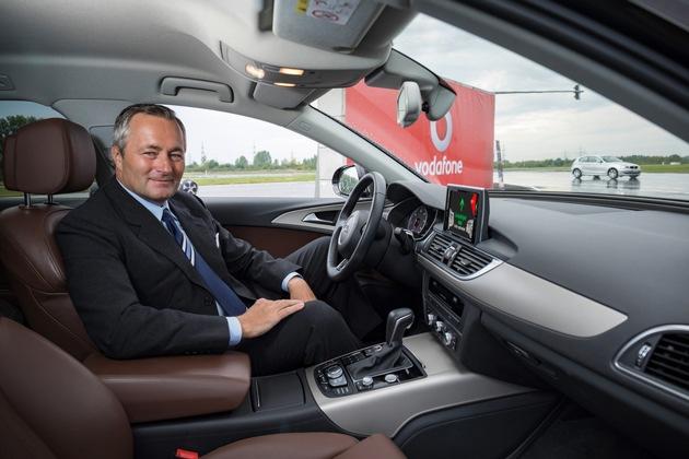 Vodafone Deutschland CEO Hannes Ametsreiter steuert Deutschland in die digitale Zukunft