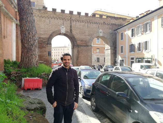 Ibrahim Ahmed Malik joined the Vatican's first hackathon.