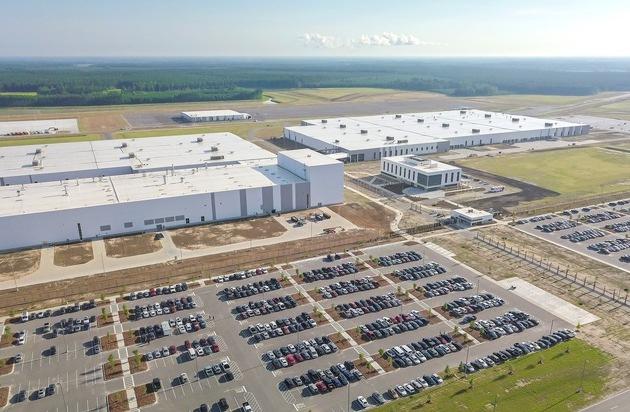 Volvo eröffnet erstes Werk in den USA
