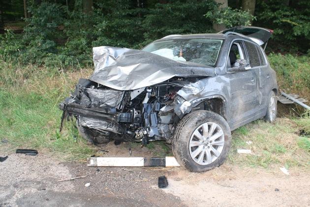 Aufnahme von der Unfallstelle 2