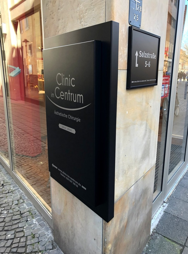 Die Clinic im Centrum Münster: Jetzt noch zentraler in der Salzstraße, nur wenige Meter vom Domplatz entfernt.   Bildquelle: Clinic im Centrum Abdruck honorarfrei.