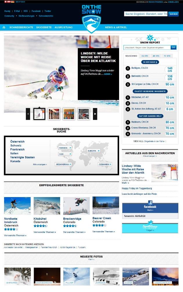 OnTheSnow: Mit starken Partnern die Nummer 1 der Wintersportportale