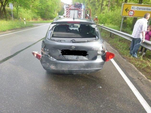 POL-PPWP: Verkehrsunfall mit drei Leichtverletzten, davon zwei Kinder