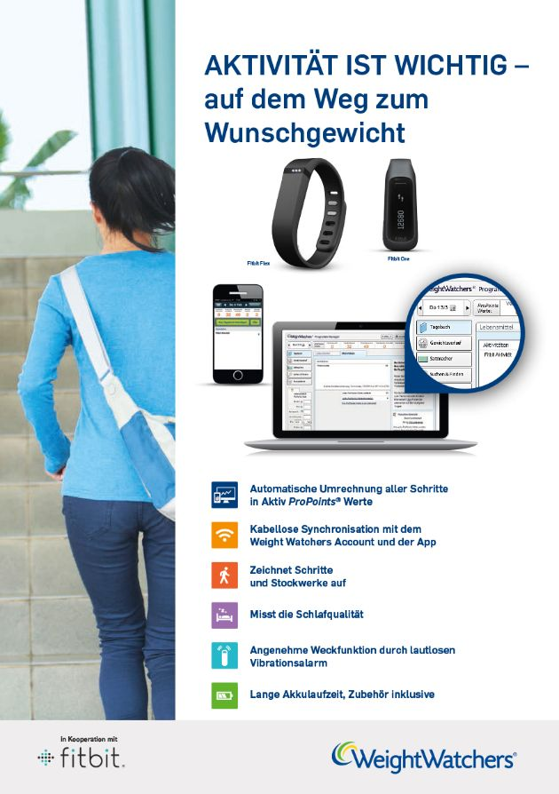 Weight Watchers und Fitbit kooperieren in Deutschland