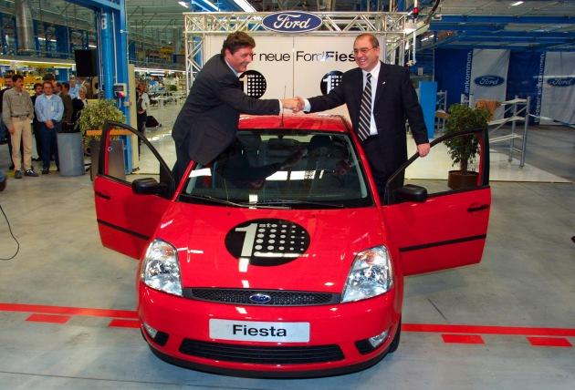 Produktion des neuen Ford Fiesta angelaufen
