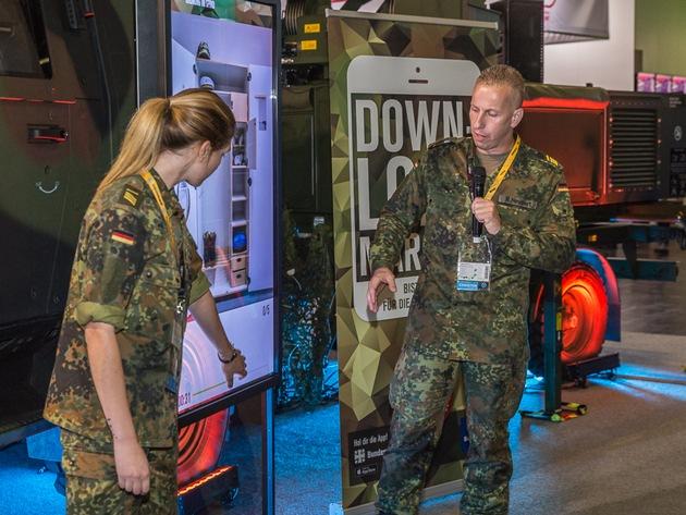 Bundeswehr stellt neue Challenge-App vor