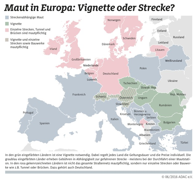 Mautdschungel Europa - Wissen spart Geld / ADAC: Eigenverantwortliche Planung bei Reisen gefragter denn je