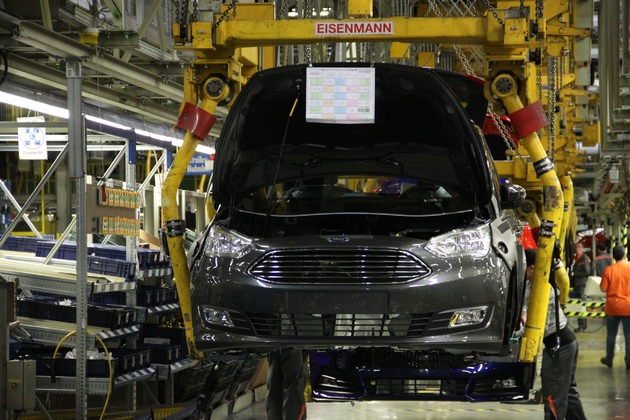 Ford startet die Serienproduktion des neuen Ford C-MAX